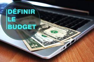 budget de création de web site