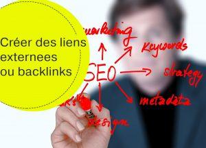 créer des liens externes ou backlinks